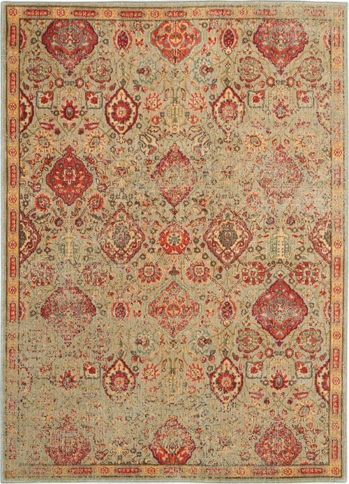 Nourison Somerset ST90 Light Green Rug