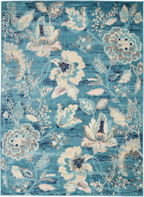 nourison tranquil tra02 turquoise