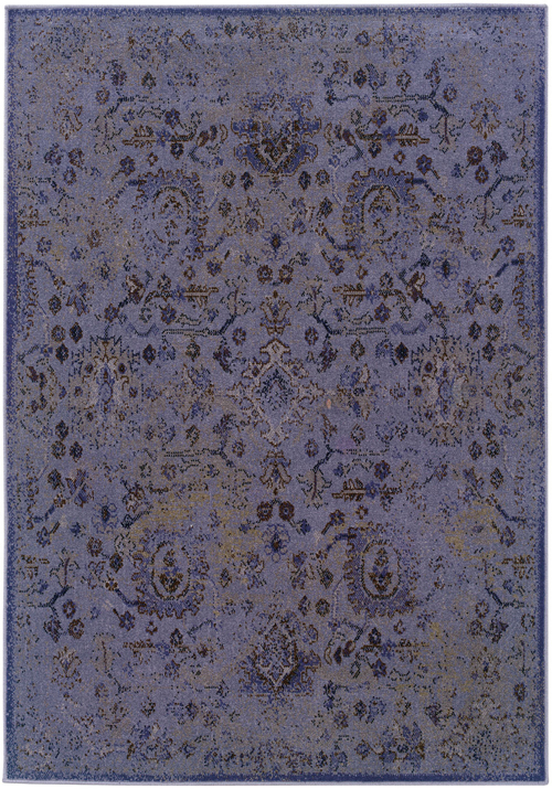 oriental weavers revival 3692e purple