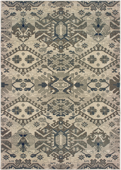 oriental weavers richmond 1807j grey