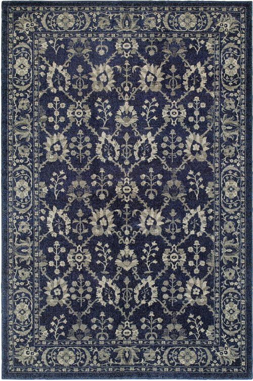 oriental weavers richmond 8020k navy