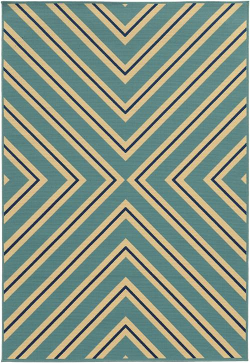 oriental weavers riviera 4589j blue