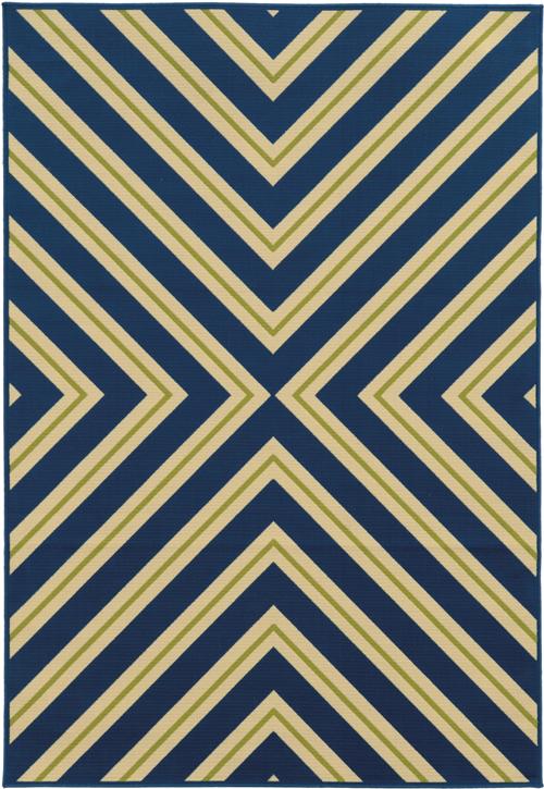 oriental weavers riviera 4589l navy