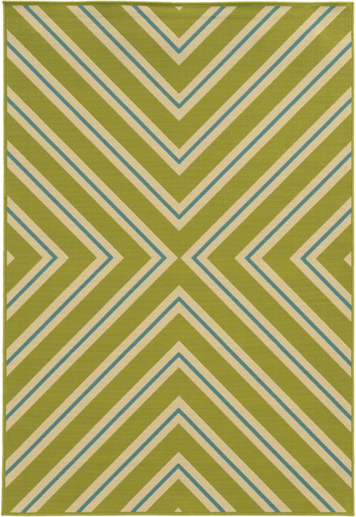 oriental weavers riviera 4589m green