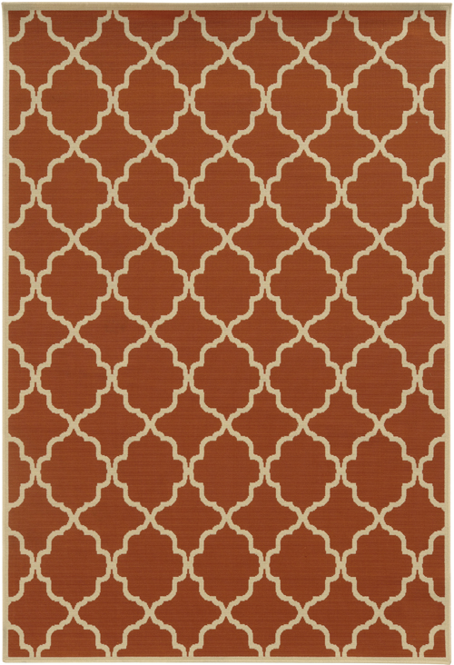 oriental weavers riviera 4770d orange