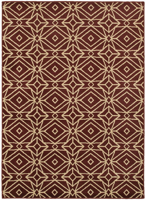 oriental weavers stratton 5882b red