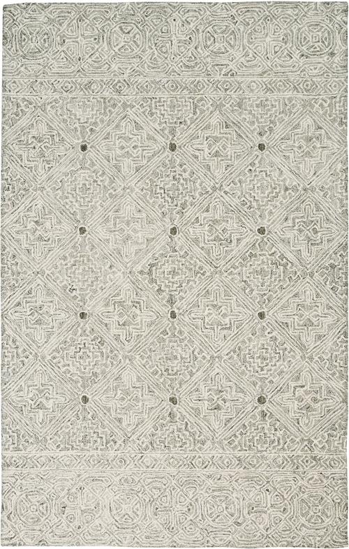 Nourison Azura AZM01 Ivory/Grey Rug