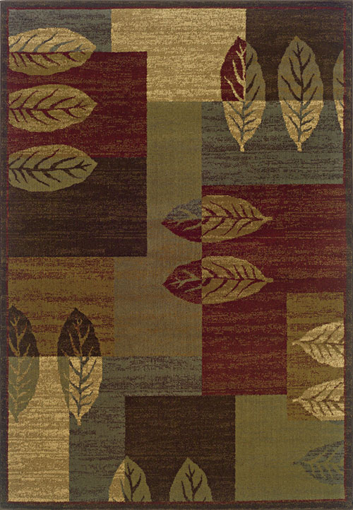 oriental weavers tybee 2360r brown