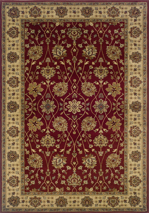 oriental weavers tybee 733r6 red