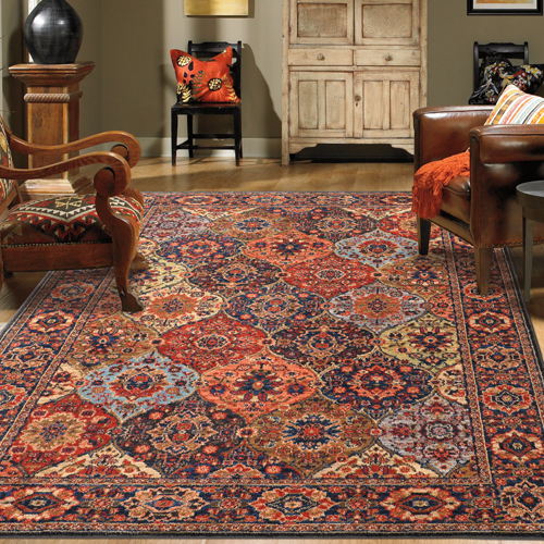 Karastan Spice Market Levant Multi Multi Room Scene