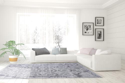 Dynamic MOSAIC 1663 GREY Room Scene